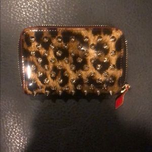 Authentic Christian Louboutin Coin purse Spikes!!!
